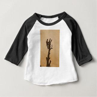 Tree Surgeon Arborist at work present Baby T-Shirt