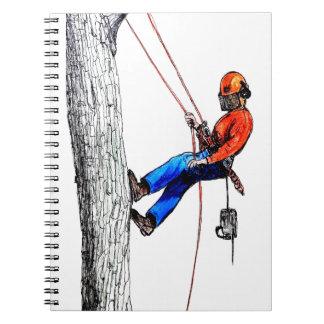 Tree Surgeon Arborist Forester Notebook