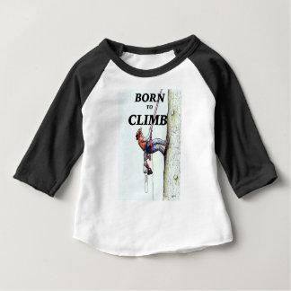 Tree Surgeon Arborist New Baby present gift Baby T-Shirt