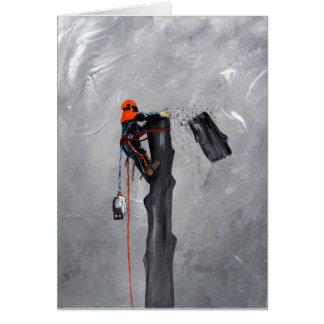 Tree Surgeon Arborist Stihl Card