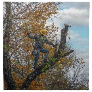 Tree Surgeon Napkin