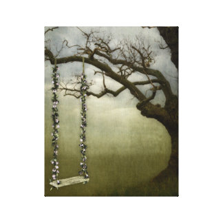 Tree Swing Canvas Print