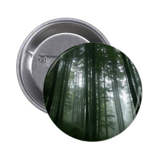 Tree Tall Pines 2 Inch Round Button