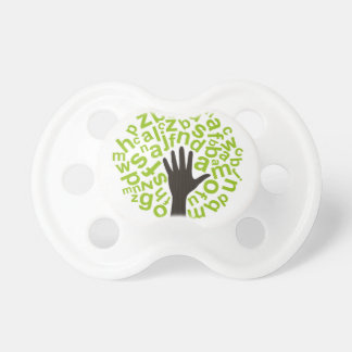Tree the alphabet baby pacifiers