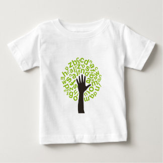 Tree the alphabet baby T-Shirt