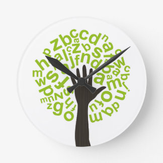Tree the alphabet clock