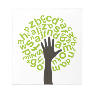 Tree the alphabet notepad