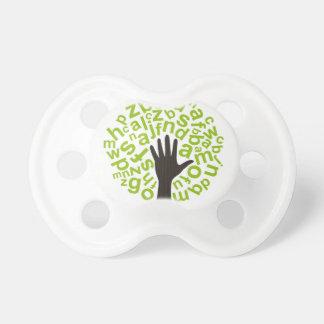 Tree the alphabet pacifier