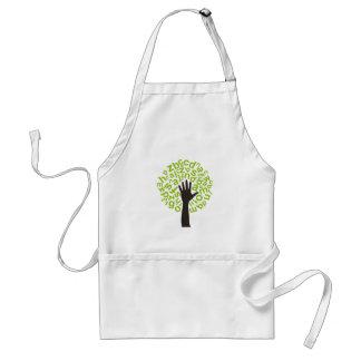 Tree the alphabet standard apron