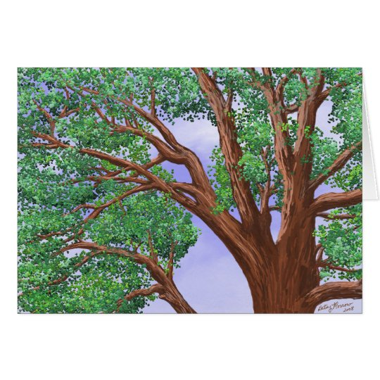 Tree Top Card