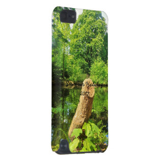 Tree Trunk Nature Photography Lake Park iPod Touch (5th Generation) Cases