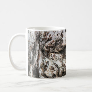 Tree trunk's knot coffee mug