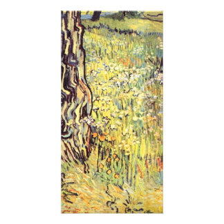 Tree trunks by Vincent van Gogh Photo Greeting Card