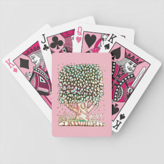 Tree Two Bicycle Playing Cards