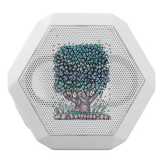Tree Two Color White Bluetooth Speaker
