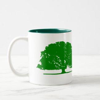 Tree Two-Tone Coffee Mug