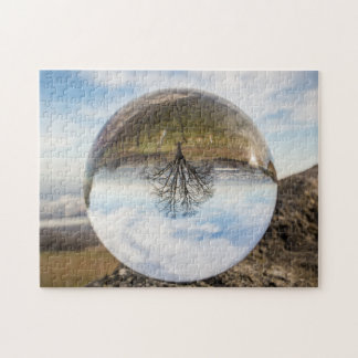 Tree Under Glass Jigsaw Puzzle