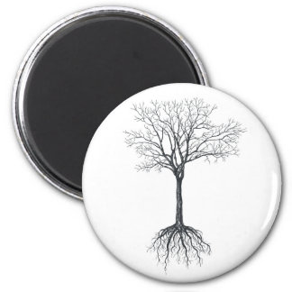 Tree without leaves magnet