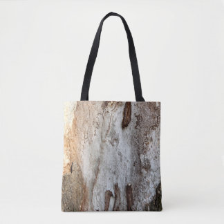 Tree Wood Bark Tote Bag