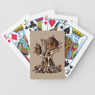 Treehouse 2 bicycle playing cards