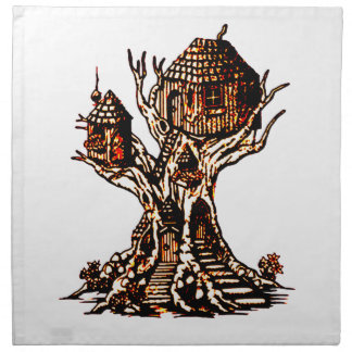 Treehouse 2 napkin