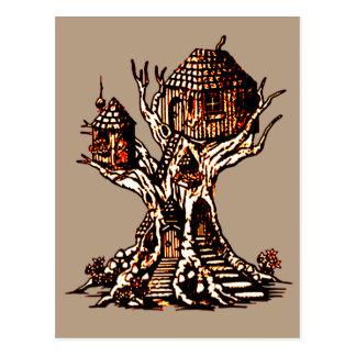 Treehouse 2 postcard