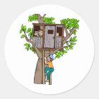 Treehouse Classic Round Sticker