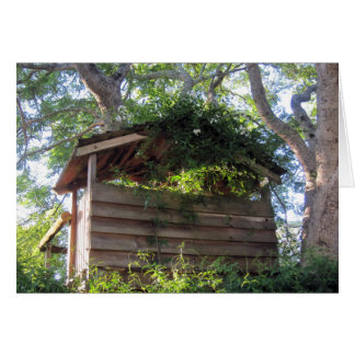 Treehouse Note / Greeting Card