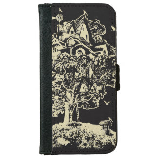 Treehouse Village Phone Wallet