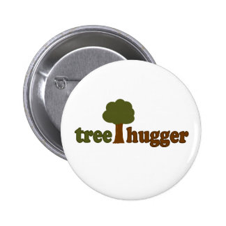 Treehugger (Tree) 2 Inch Round Button