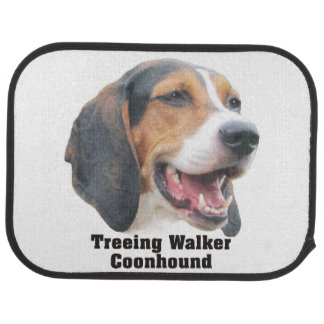 Treeing Walker Coonhound Car Mats