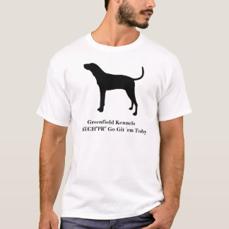Treeing Walker Coonhound Customizable T-Shirt