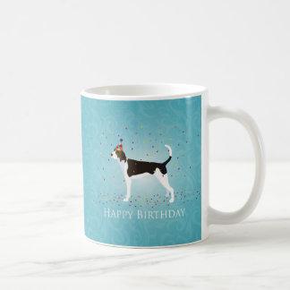 Treeing Walker Coonhound Happy Birthday Design Coffee Mug