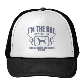 Treeing Walker Coonhound Trucker Hats