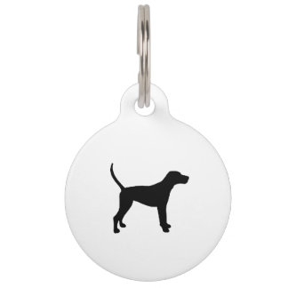 treeing walker coonhound silo black.png pet tag