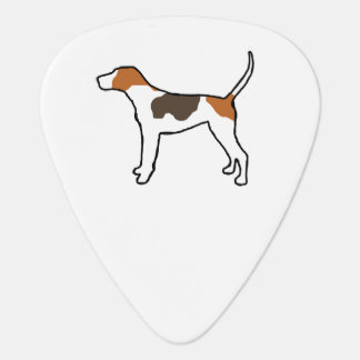 treeing walker coonhound silo color.png guitar pick