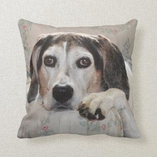 Treeing Walker Coonhound Throw Pillow