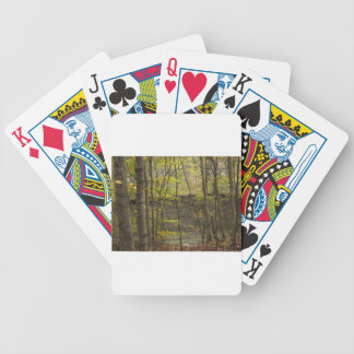 Treeline Bicycle Playing Cards