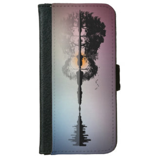 Treeline fading into a Guitar Illusion Phone Case