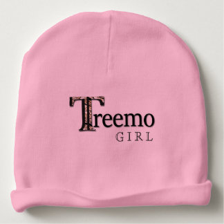 Treemo Gear Baby Girl Front/Back Reversible Beanie Baby Beanie