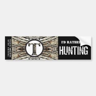 Treemo Gear Camo Personalized Bumper Sticker- Hunt Bumper Sticker