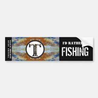 Treemo Nature Personalized Bumper Sticker- Fish Bumper Sticker
