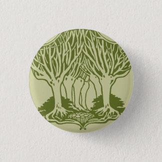 Trees 1 Inch Round Button