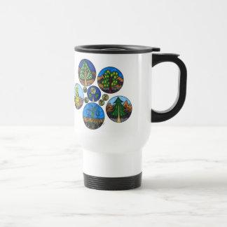 Trees and Bugs Travel Mug