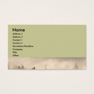 Trees and Fog Business Card