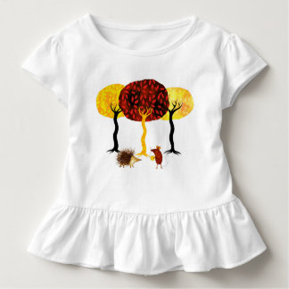 Trees and friends toddler t-shirt