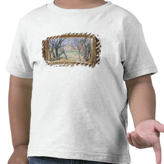Trees and houses, 1885-86 shirt