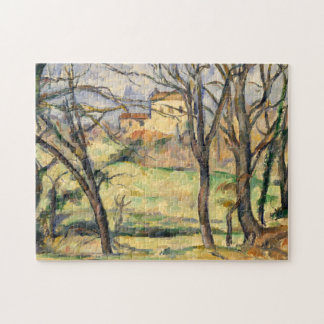 Trees and Houses Near the Jas de Bouffan Jigsaw Puzzle