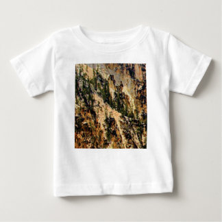 trees and yellow slope baby T-Shirt