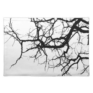 Tree's dark branches placemat